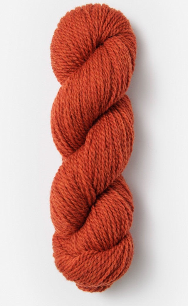 Blue Sky Fibers' Woolstok is 100% Fine Highland Wool - 50g / 123yds / 112m per skein - Rusted Roof