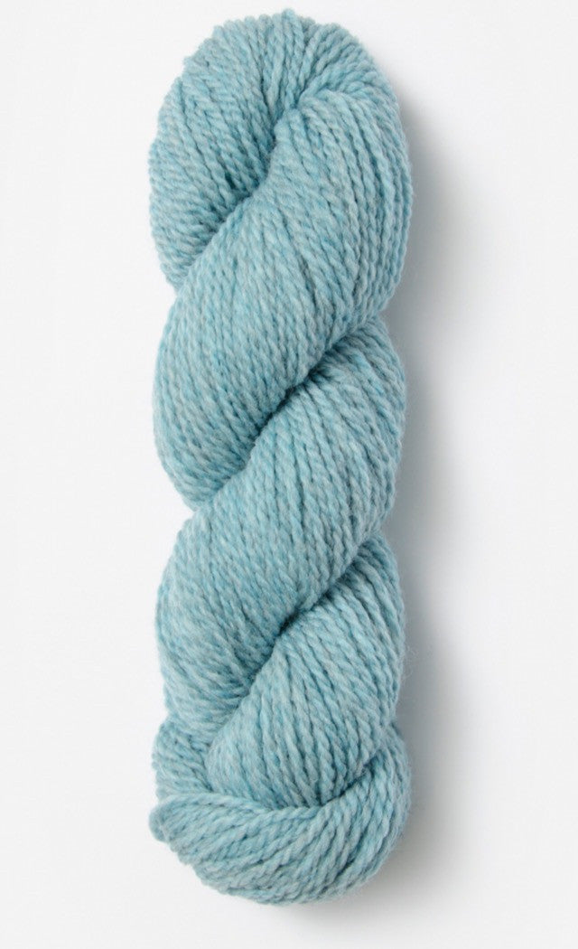 Blue Sky Fibers' Woolstok is 100% Fine Highland Wool - 50g / 123yds / 112m per skein - Spring Ice