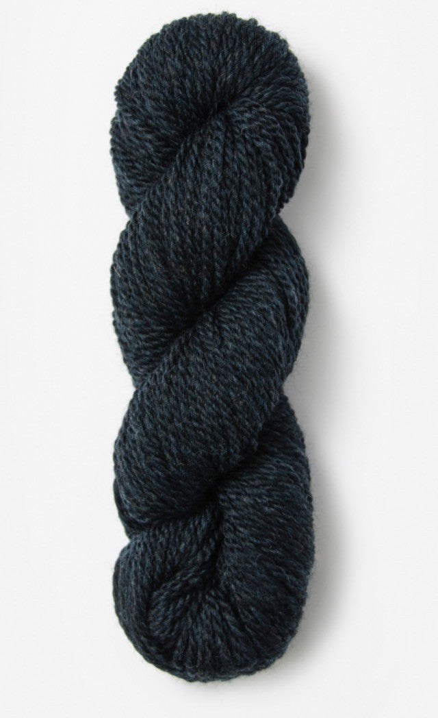 Blue Sky Fibers' Woolstok is 100% Fine Highland Wool - 50g / 123yds / 112m per skein - Midnight Sea