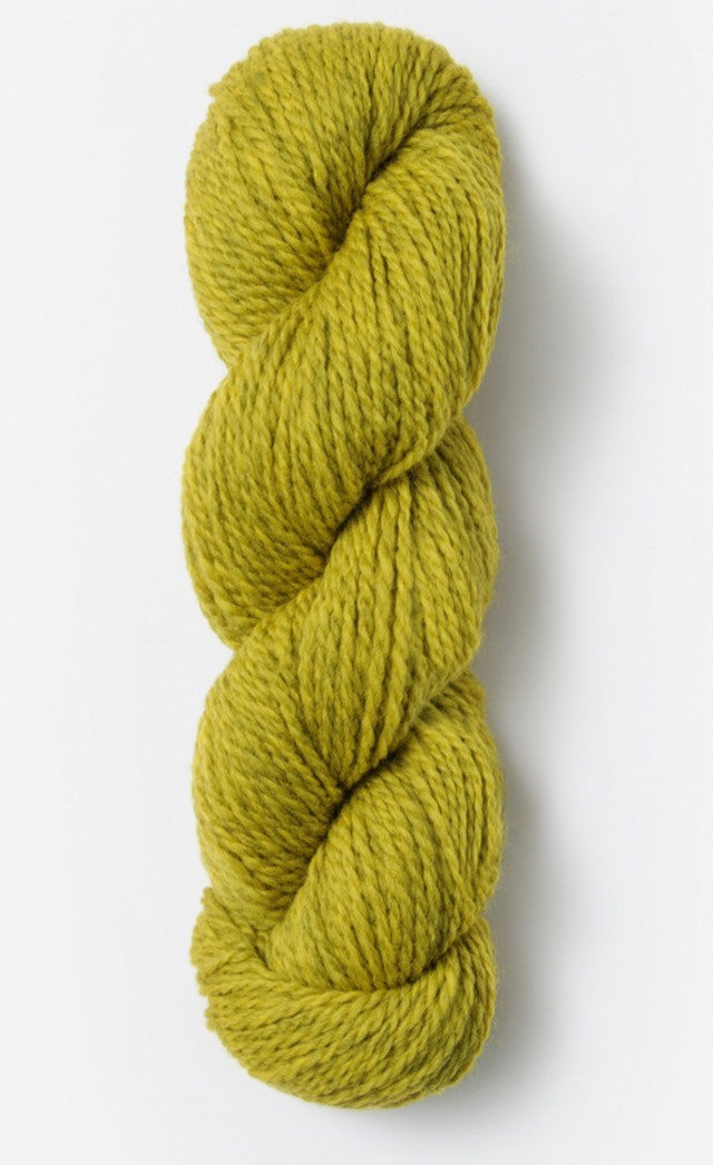 Blue Sky Fibers' Woolstok is 100% Fine Highland Wool - 50g / 123yds / 112m per skein - Golden Meadow