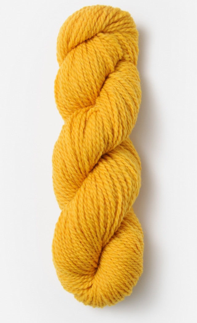 Blue Sky Fibers' Woolstok is 100% Fine Highland Wool - 50g / 123yds / 112m per skein - Spun Gold