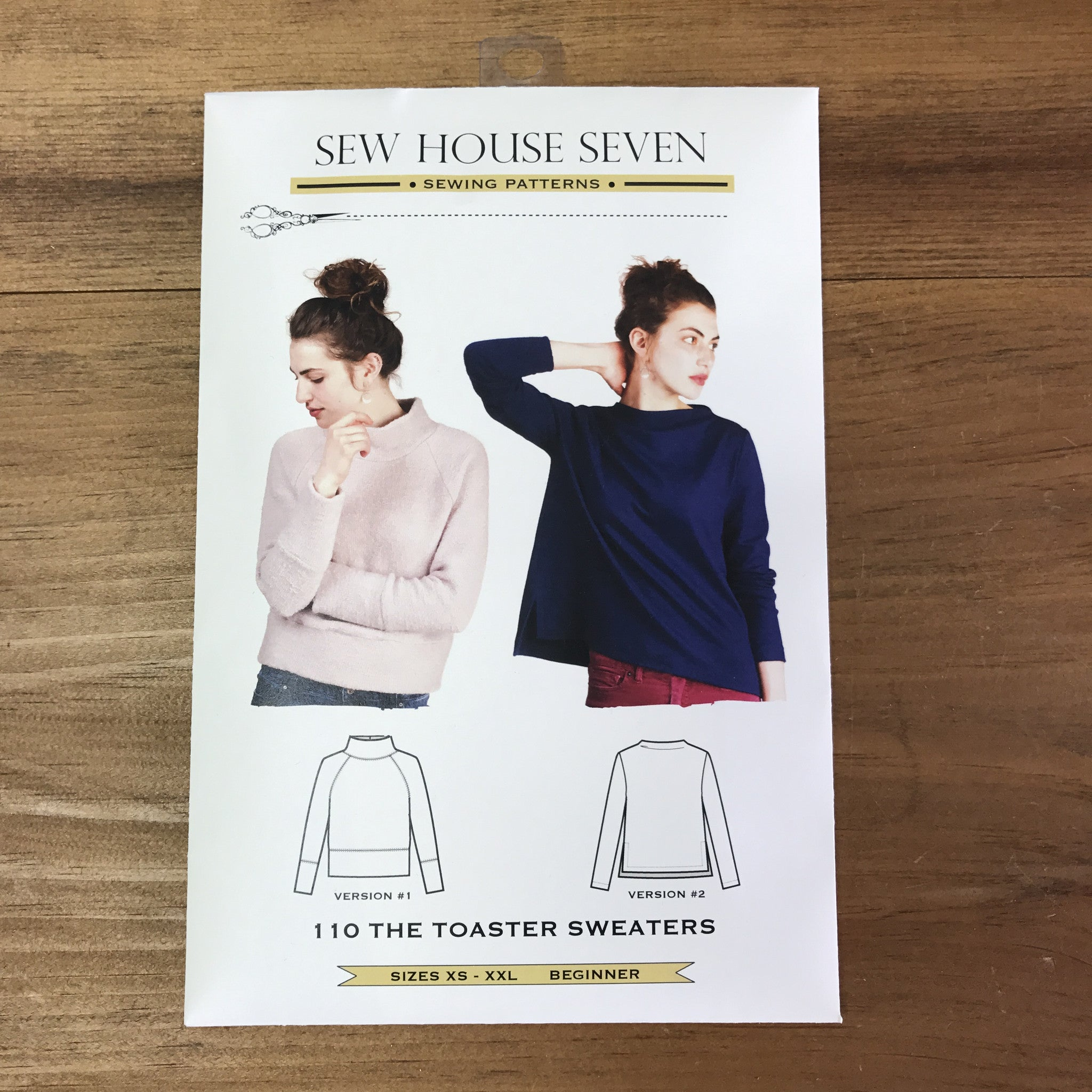 Toaster Sweater Pattern Sew House Seven