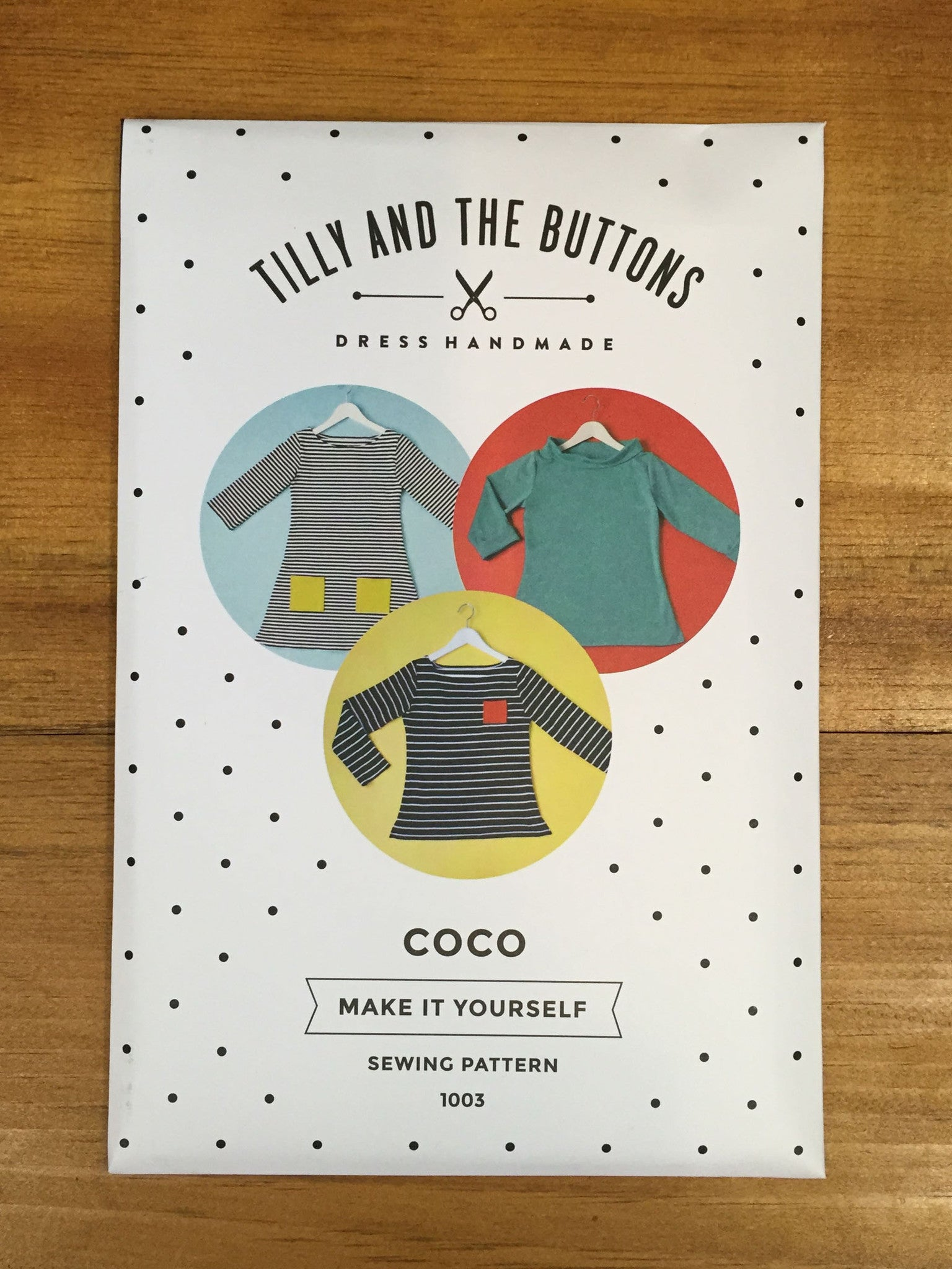 Coco Top pattern Tilly and the Buttons