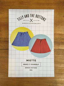 Miette pattern Tilly and the Buttons