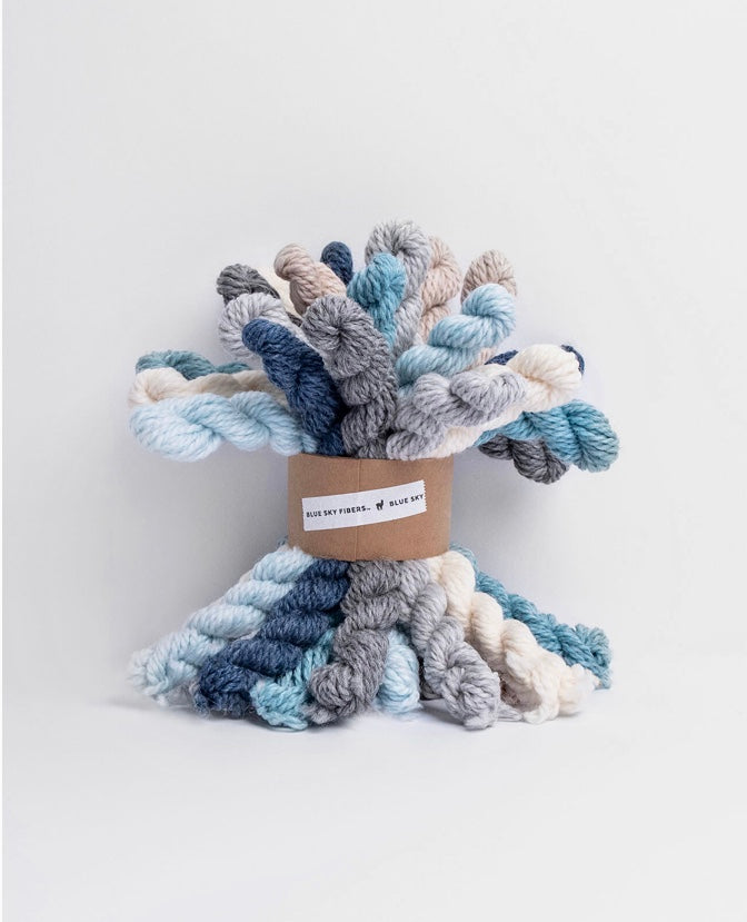 Blue Sky Fibers Woolstok Bundle - Holiday Frost