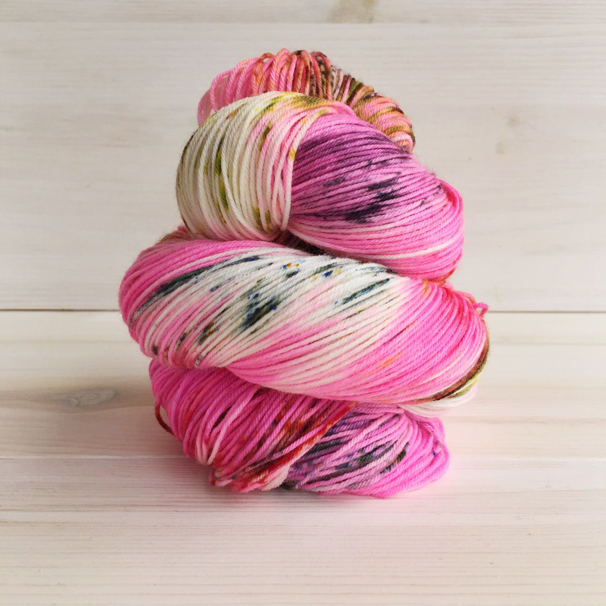 Hey Lady Hey Superwash Merino and Nylon Blend DK Yarn - Prim