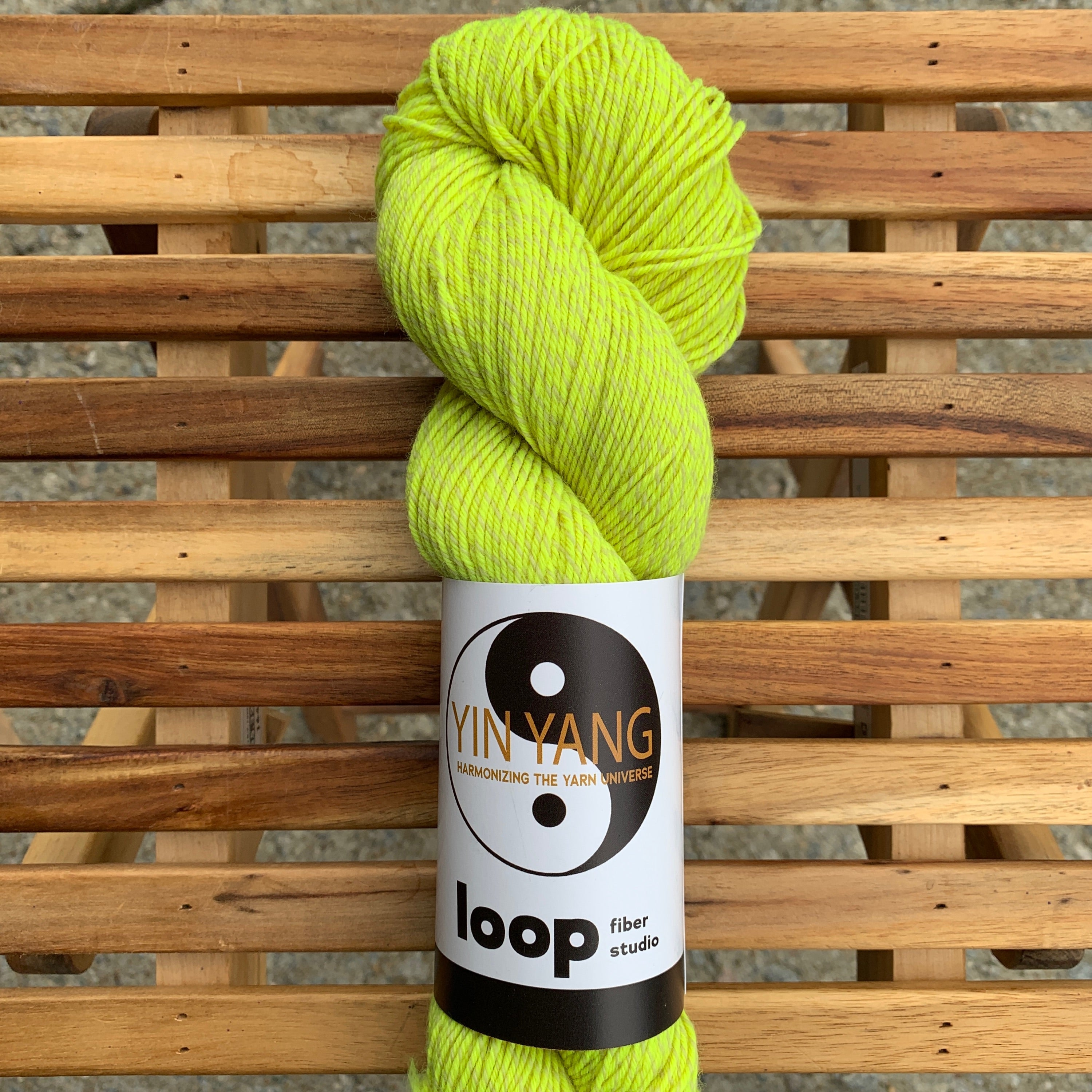 Loop Fiber Studio Yin Yang Fingering in Rise