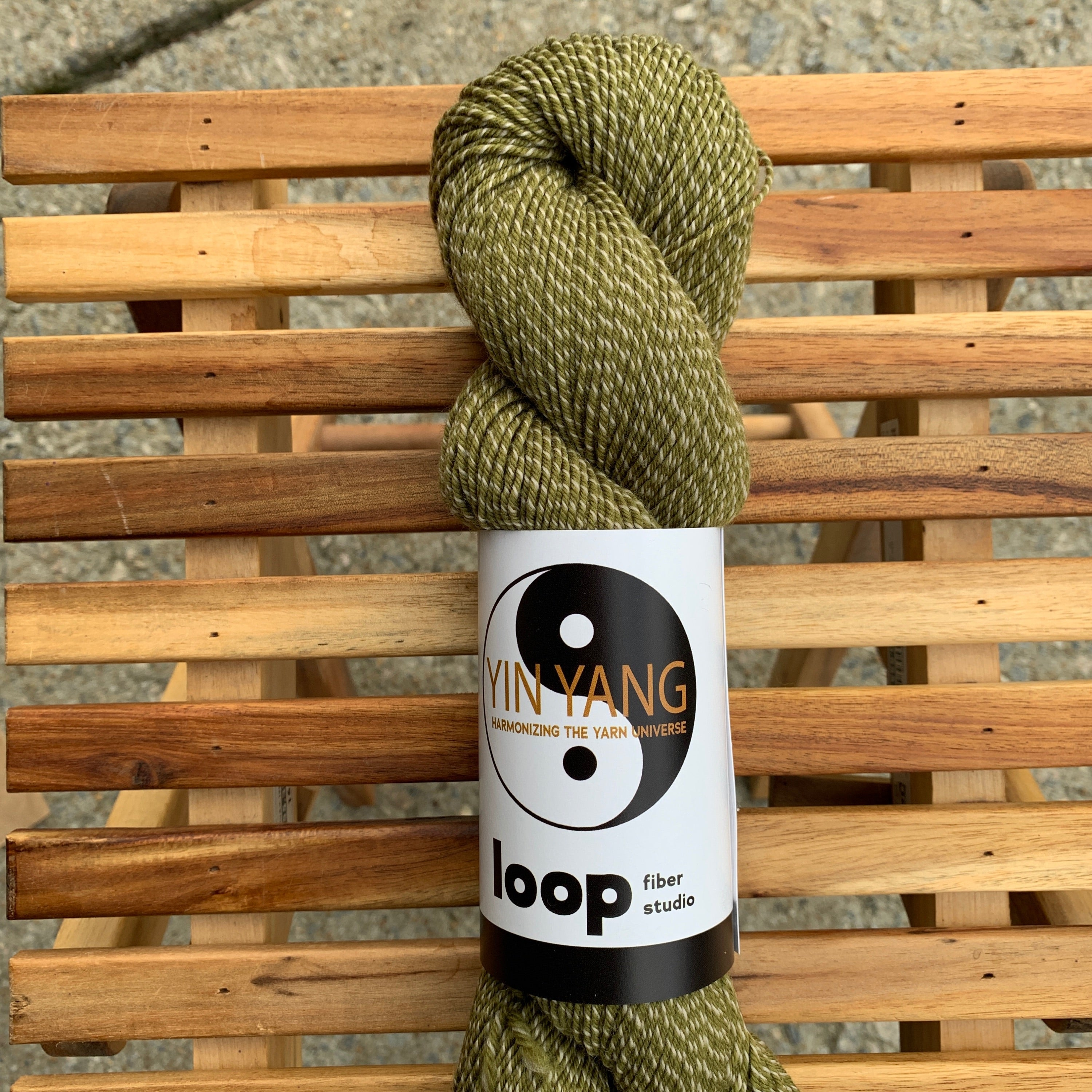 Loop Fiber Studio Yin Yang Fingering in So On