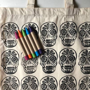 Color your own Market Tote Kit