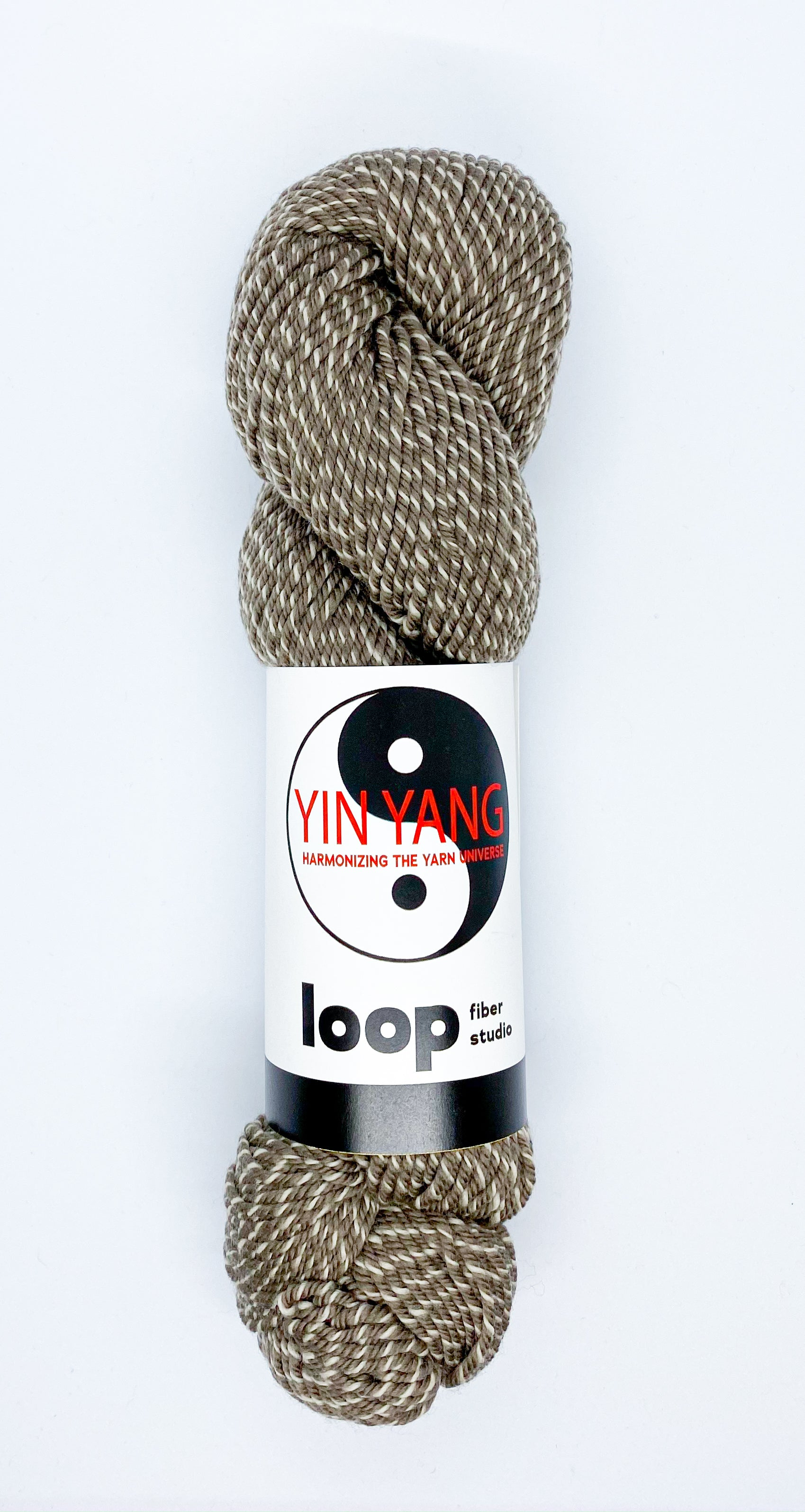 Loop Fiber Co Yin Yang Worsted in Damned If You Do