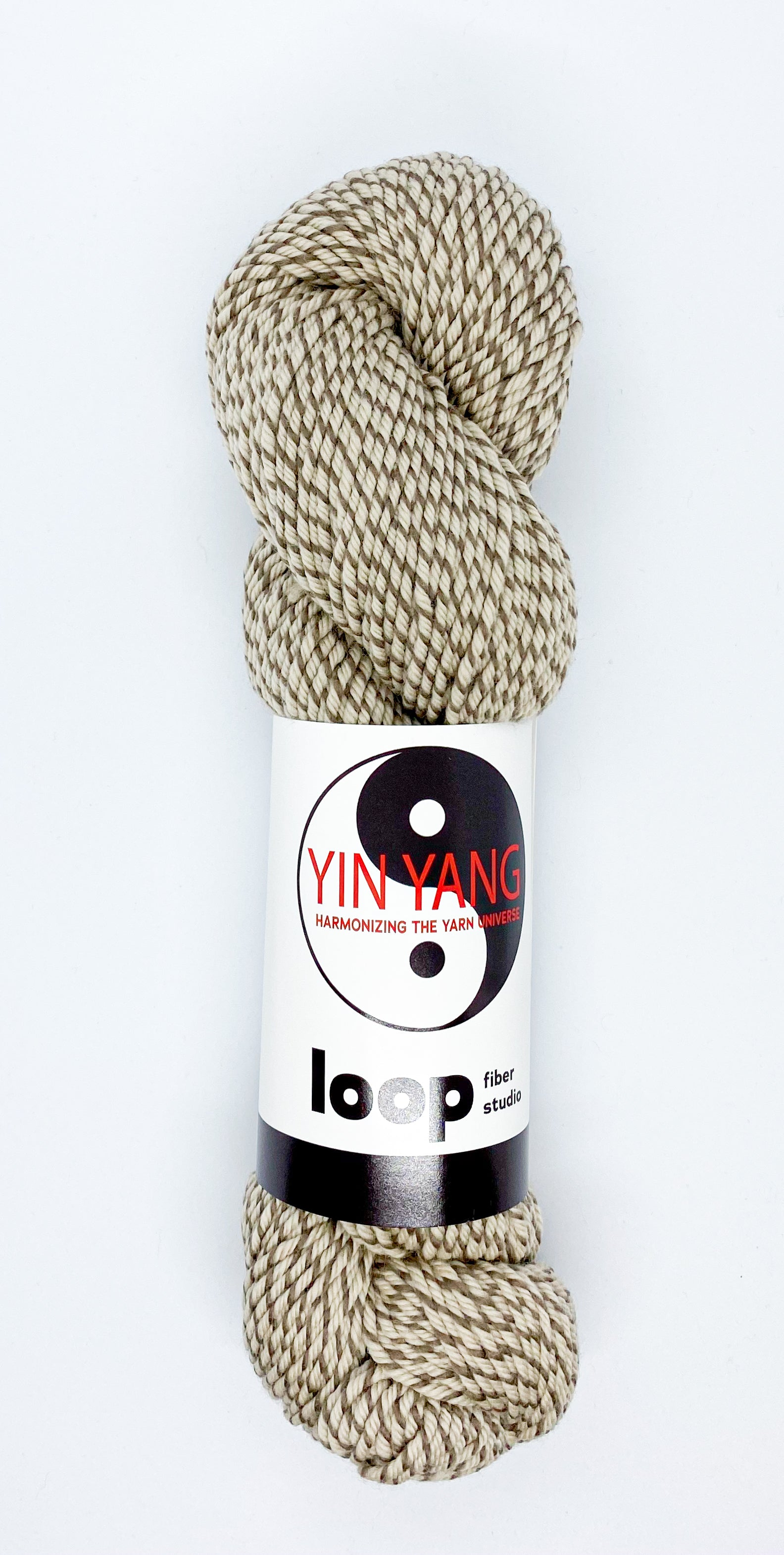 Loop Fiber Co Yin Yang Worsted in Damned If You Don't