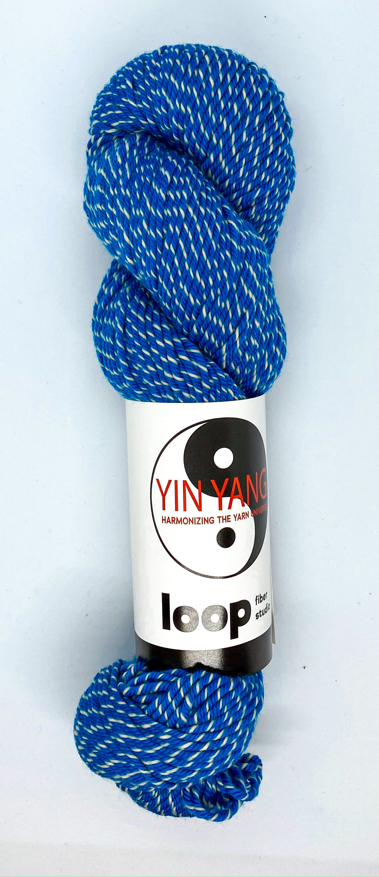 Loop Fiber Co Yin Yang Worsted in Far
