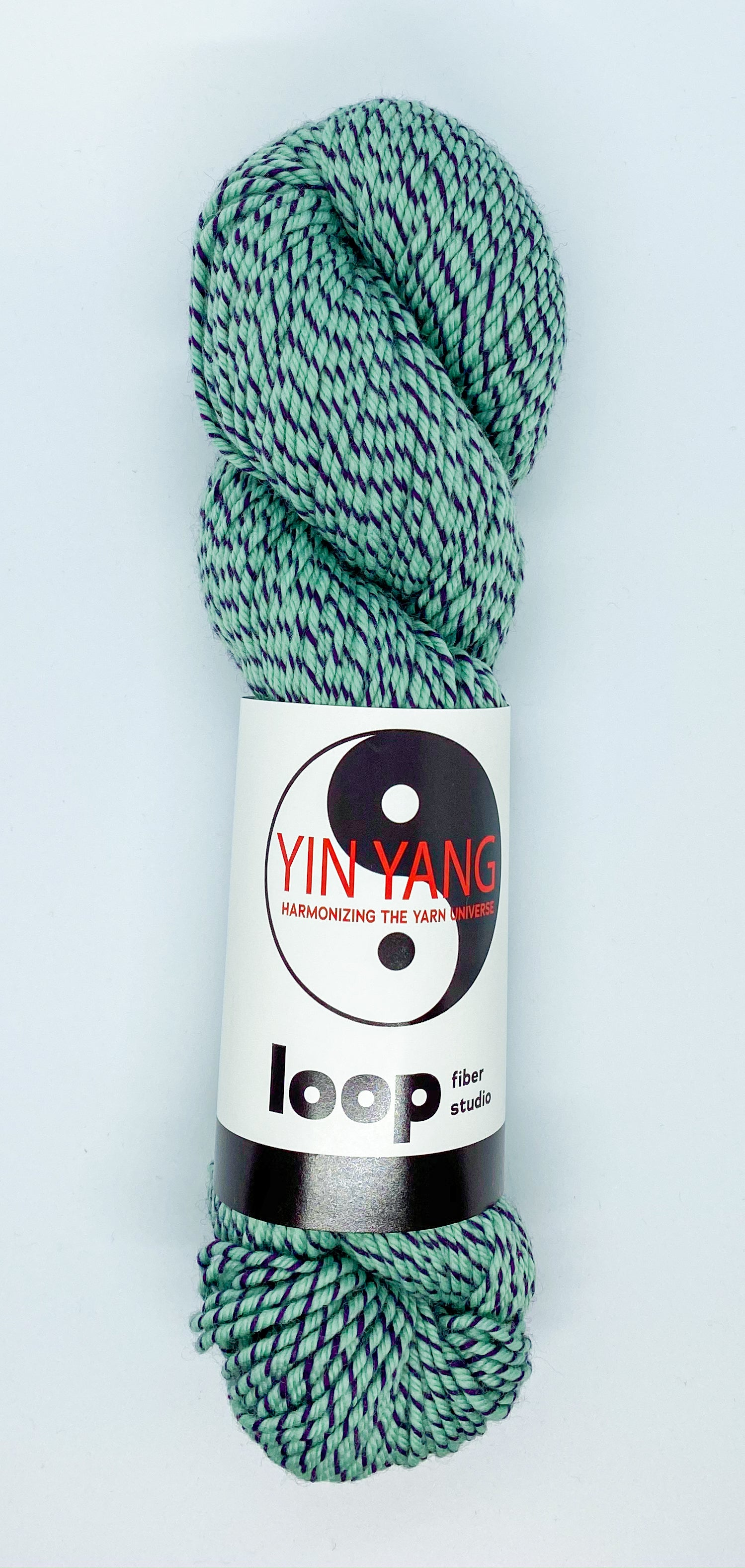 Loop Fiber Co Yin Yang Worsted in See