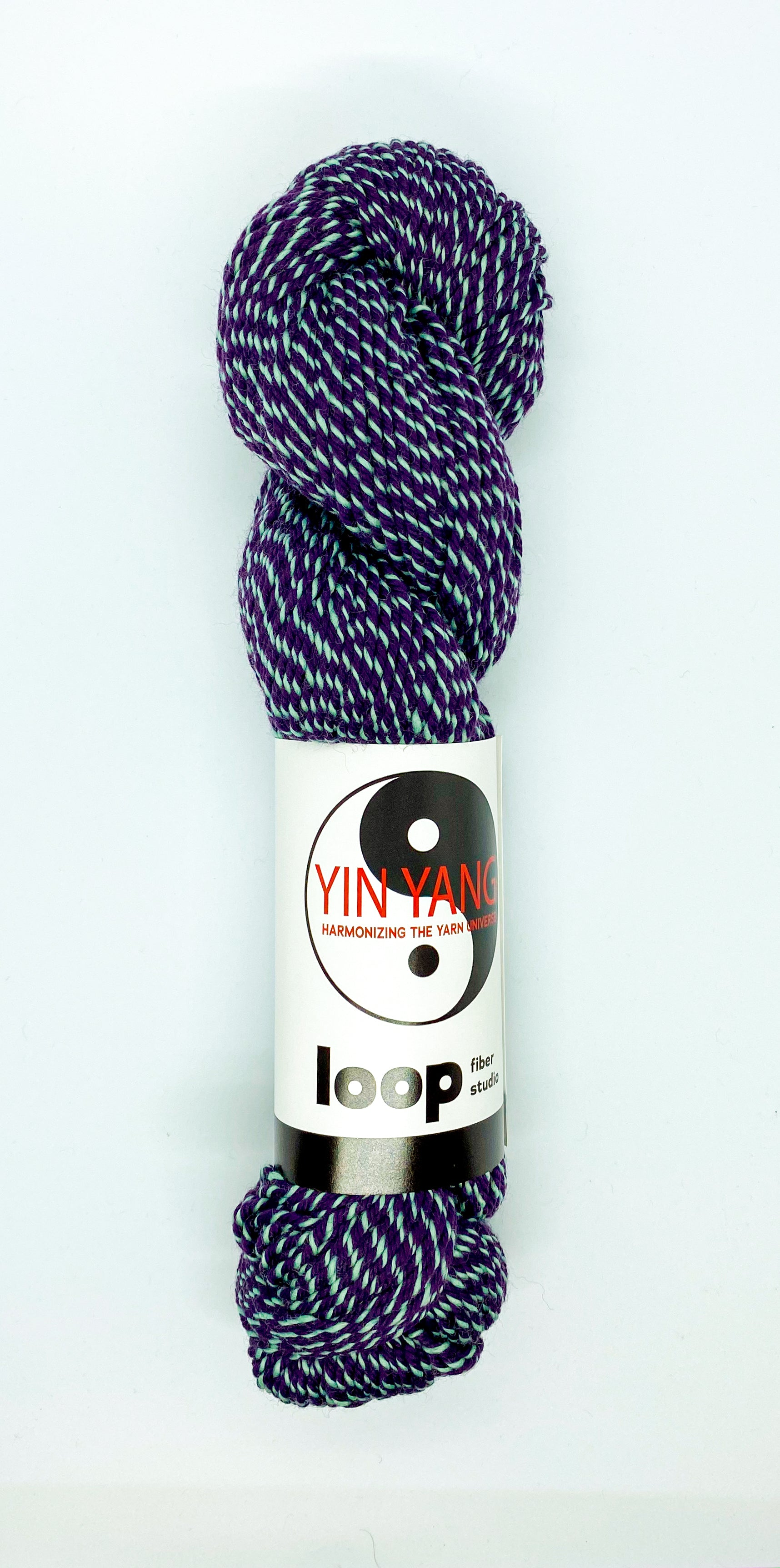 Loop Fiber Co Yin Yang Worsted in Wait