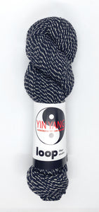 Loop Fiber Co Yin Yang Worsted in Yin