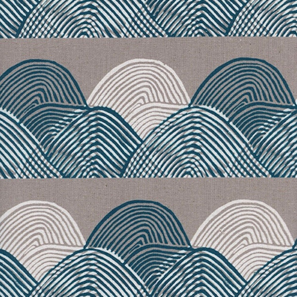 Imagined Landscapes by Jen Hewett for Cotton + Steel - Headlands Midnight
