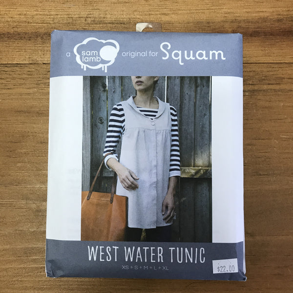 West Water Tunic Pattern Squam