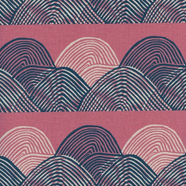 Imagined Landscapes by Jen Hewett for Cotton + Steel - Headlands Sunset