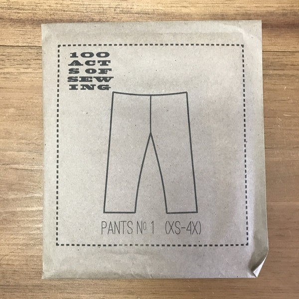100 Acts of Sewing pattern