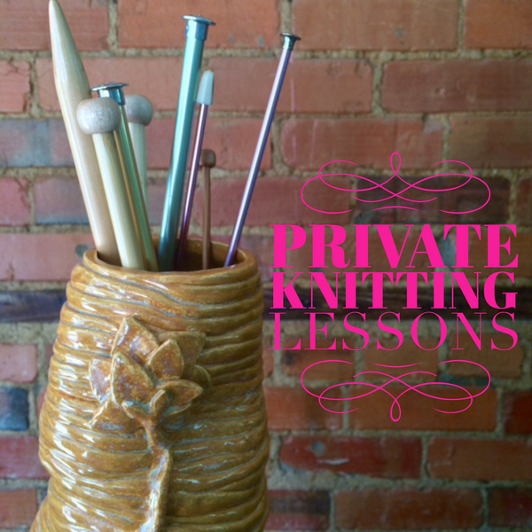 Private Knitting Lessons