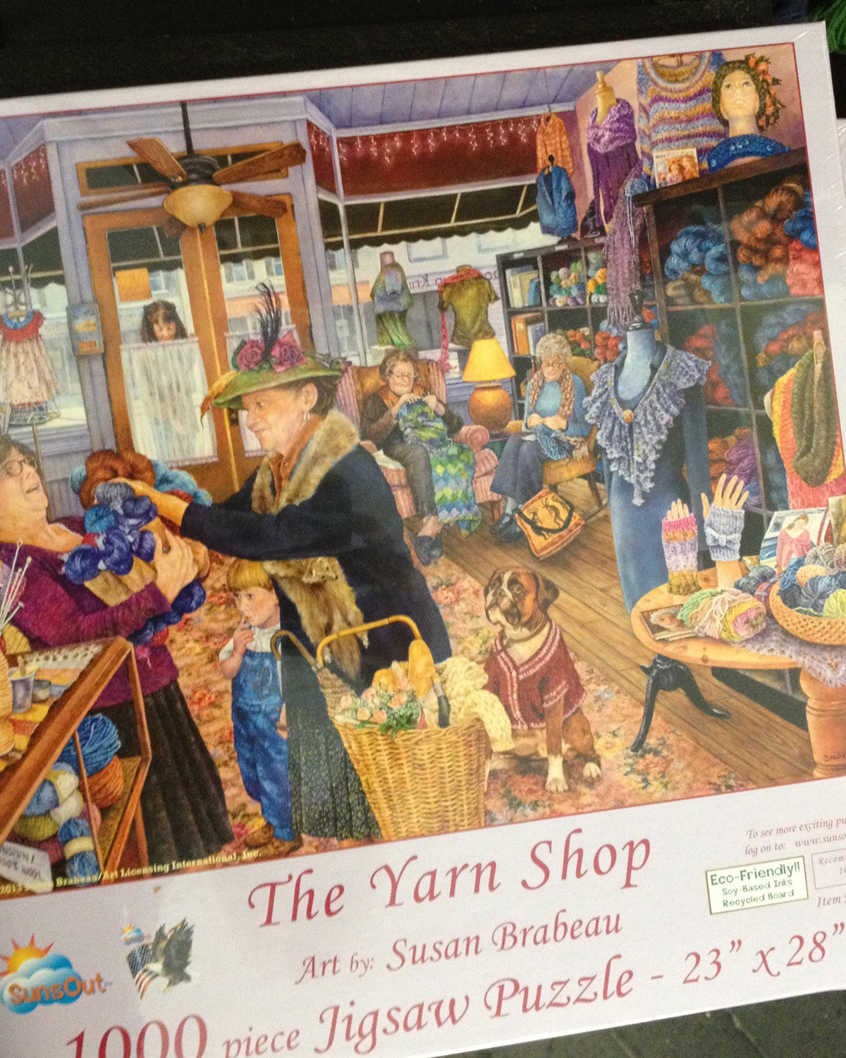 DTK (The Yarn Shop) Jigsaw Puzzle