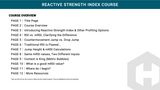 Reactive Strength Index Course