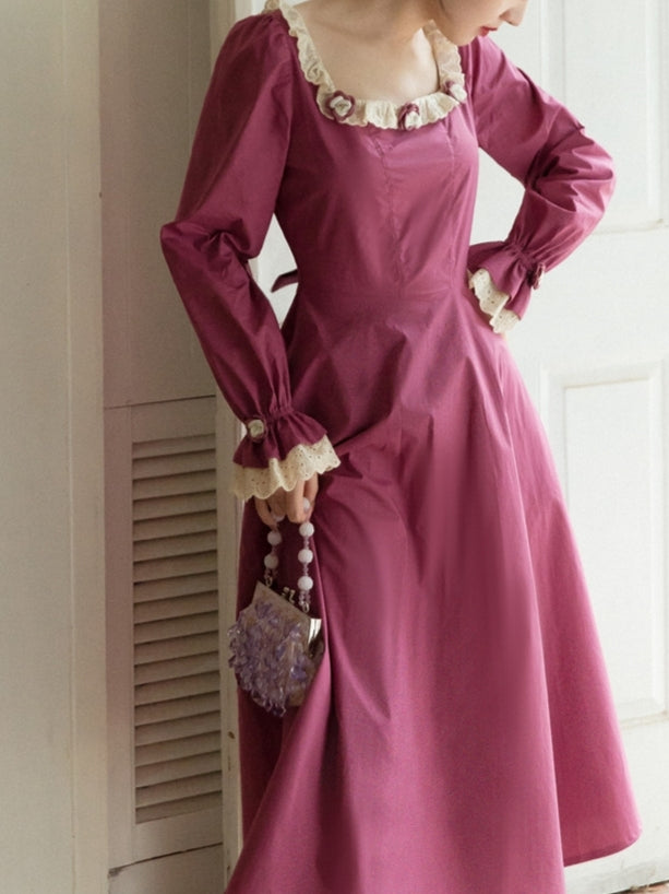 Sugar Plum Rose Dress