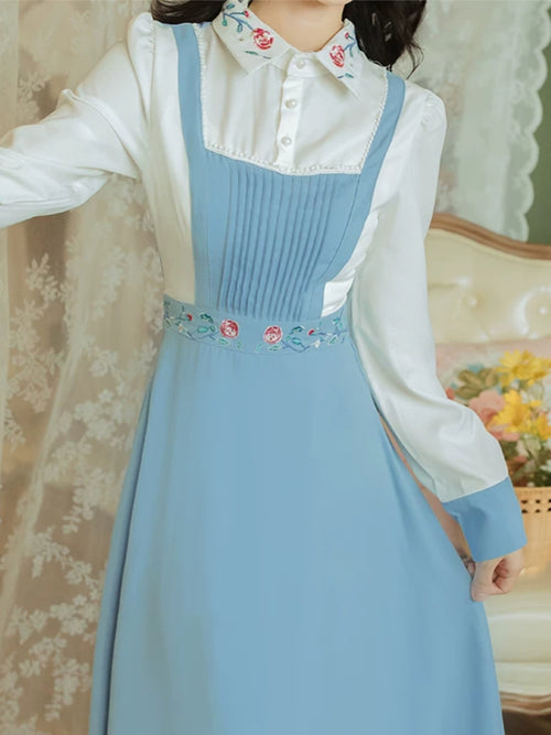 Baby Blue Belle Dress