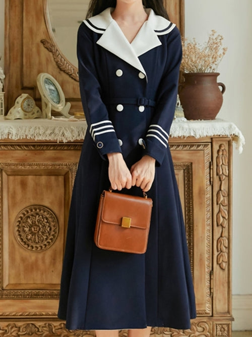Double Breasted Sailor Coat