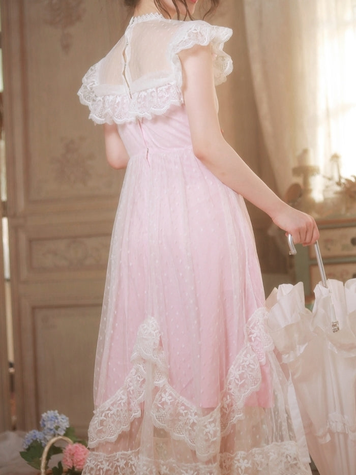Pink Dollhouse Dress
