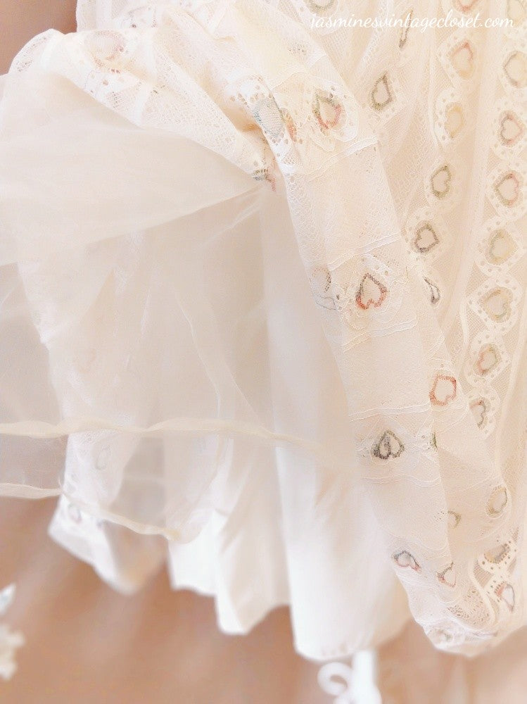 Cream Lace Princess Dress