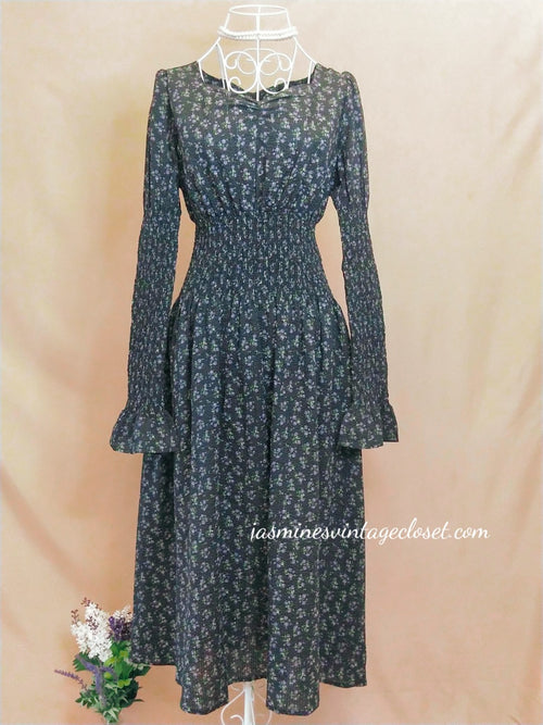 Evening Bellflower Dress