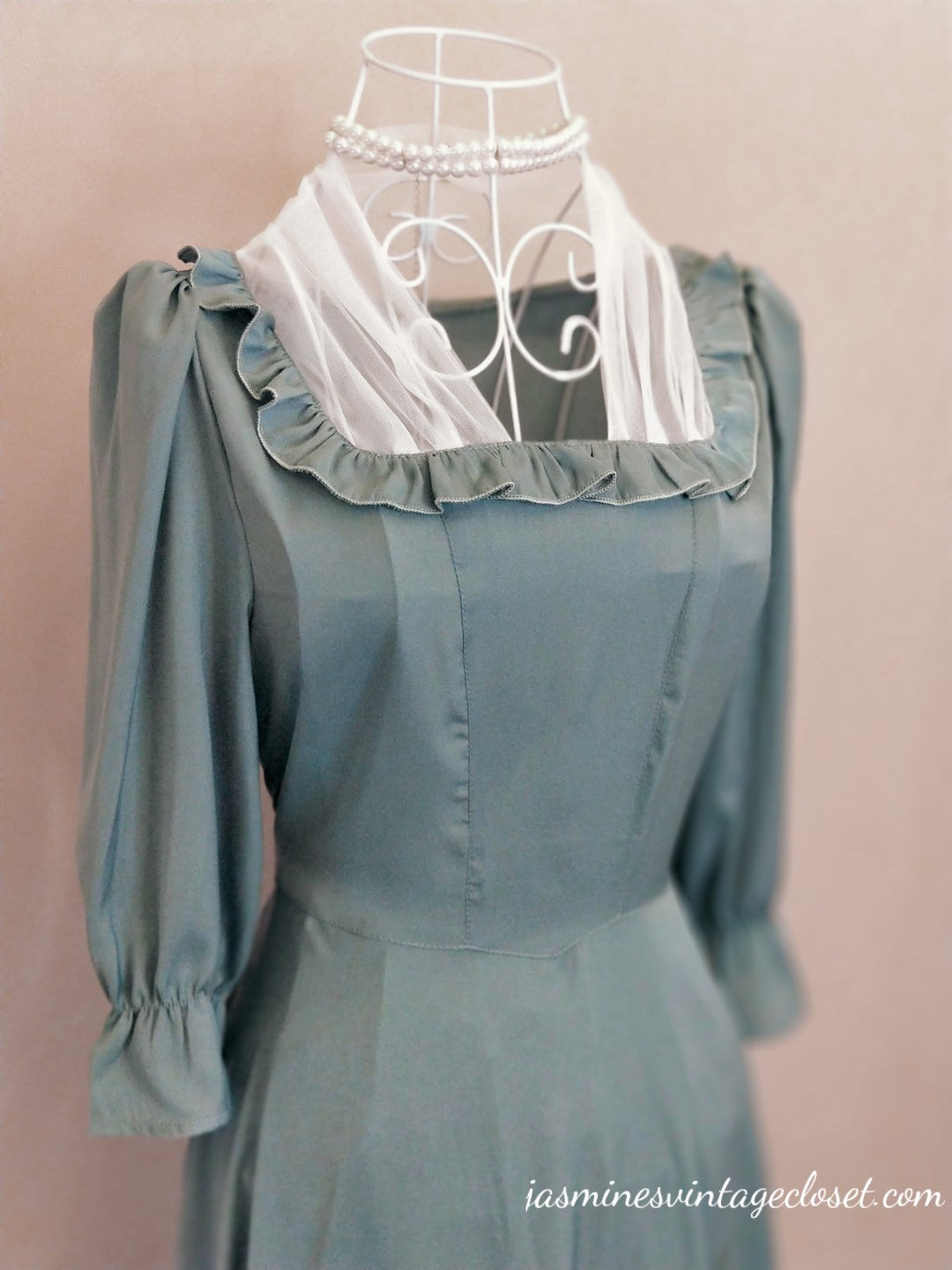 Elizabeth's Blue Dress