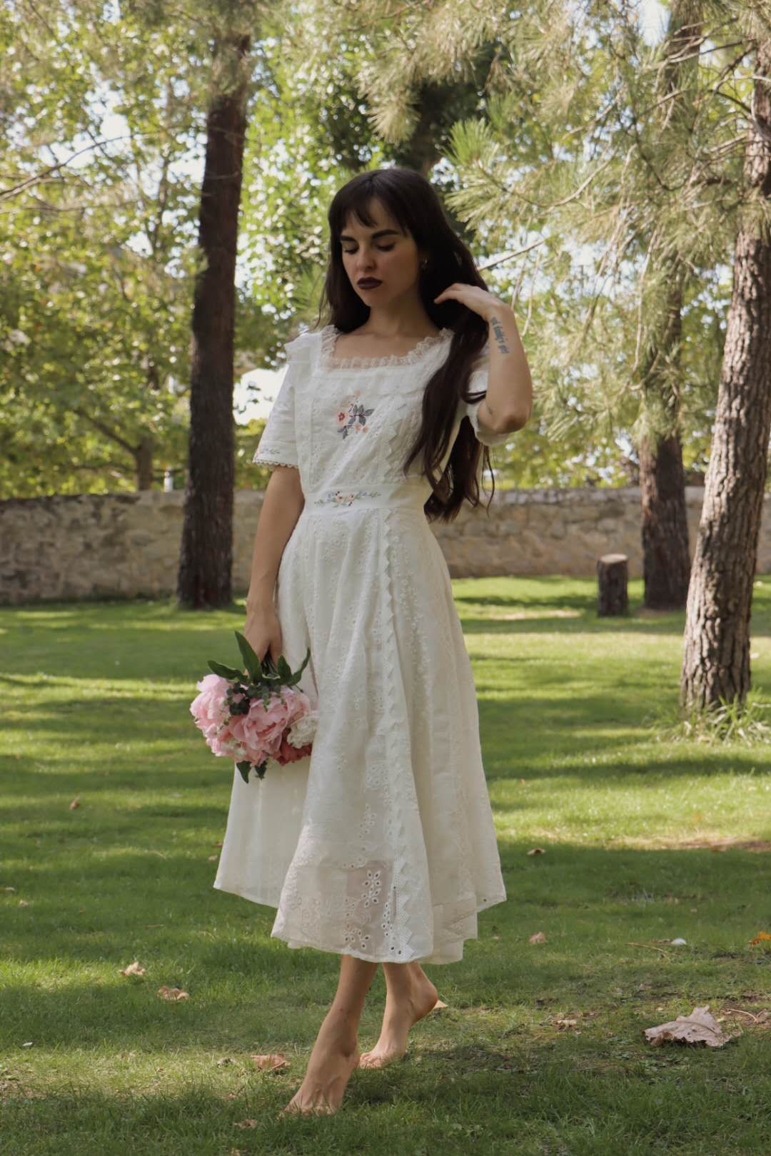 Garden of Monet Lace Dress