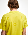 Pop Logo T-Shirt Electric Yellow