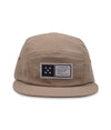 Pop Fivestar 5 Panel Hat Khaki