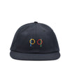 Pop Ringer 6 Panel Hat Black