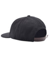 Pop O 6 Panel Hat Black