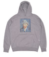 Pop Van Gogh Hooded Sweat Heather Grey