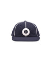 Pop O 6 Panel Hat Navy/White