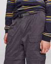 Pop Zip Off Pants Charcoal