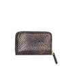 Pop Snakeskin Leather Wallet