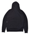 Pop Arch Logo Hooded Sweat Black