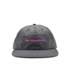 Pop Flexfoam 6 Panel Hat Anthracite/Pink