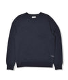 Pop Logo Crewneck Navy/White