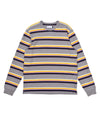 Pop Striped Longsleeve Heather Grey/Multicolour