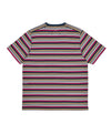 Pop Striped Pocket T-Shirt Multicolor