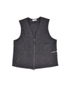 Pop Wizard Vest Boiled Wool