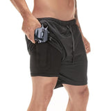 Hidden pocket-sports shorts