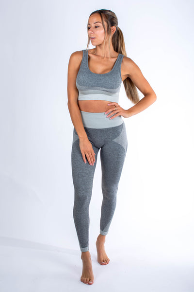 Nyssa Legging Light Grey - Own-Wear